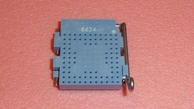 New Amp 1pc 55381-6 Conn Socket Skt Zif Pga Burnin Size 85 Pos Handle Lever
