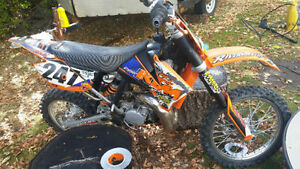 Wicked little bike-must sell- NEGOTIABLE $-or trade for quad OBO