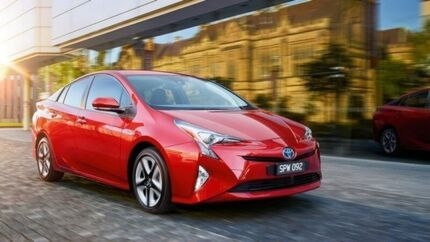 2017 Toyota Prius ZVW50R Silver 1 Speed Constant Variable Liftback Hybrid Willetton Canning Area Preview