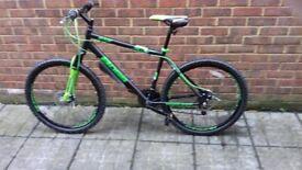 Boss Blade Mountain Bike Black/Green,