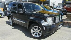 2009 Jeep Cherokee KK Limited (4x4) Black 4 Speed Automatic Wagon Homebush Strathfield Area Preview