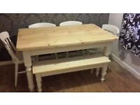pine farmhouse table in somerset dining tables chairs for sale