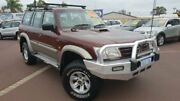 2002 Nissan Patrol GU III MY2002 ST Burgundy 4 Speed Automatic Wagon East Bunbury Bunbury Area Preview
