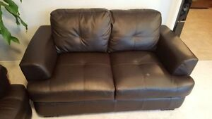 Sofa and love seat for sale - Droped the price for quick sale.