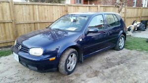 2001 Volkswagen Golf gti Sedan