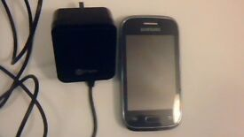 """samsung galaxy """"YOUNG"""" mobile phone touch type phone in good working order"""