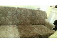 Three seater and chair. Free to take...