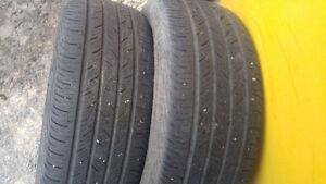 "2 pneus 4 saisons de 16 pouce,1 pneu 18"",2 pneu 19"",2 pneu 20"""