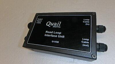 Quail Digital Q-vdb Drive-thru Headset Road Loop Detector New Eb67