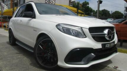 2016 Mercedes-AMG GLE63 S 166 MY17 4Matic White 7 Speed Automatic G-Tronic Wagon Homebush Strathfield Area Preview