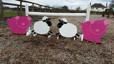 2 x SHEEP SHOW JUMP FILLERS