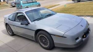 1986 Pontiac Fiero GT open to Trades