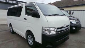 2013 Toyota HiAce KDH201R MY12 Upgrade LWB White 4 Speed Automatic Van Greenacre Bankstown Area Preview