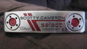 SCOTTY CAMERON SELECT NEWPORT 2.5