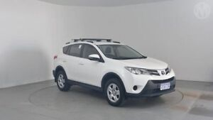 2013 Toyota RAV4 ZSA42R GX (2WD) Glacier White Continuous Variable Wagon Perth Airport Belmont Area Preview