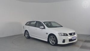 2012 Holden Commodore VE II MY12 SV6 Heron White 6 Speed Automatic Sportswagon Perth Airport Belmont Area Preview
