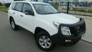 2014 Toyota Landcruiser Prado KDJ150R MY14 GX Glacier White 5 Speed Sports Automatic Wagon Bassendean Bassendean Area Preview