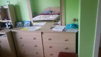 6 drawer dresser and mirror for sale