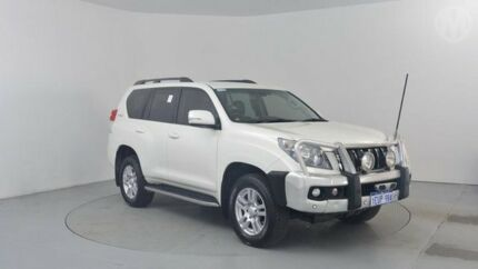2013 Toyota Landcruiser Prado KDJ150R MY14 VX (4x4) Crystal Pearl 5 Speed Sequential Auto Wagon Perth Airport Belmont Area Preview