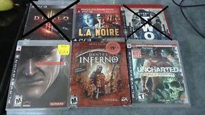 jeux ps3- 5 ou 10$ / ps3 games Gatineau Ottawa / Gatineau Area image 3