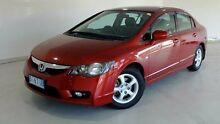 2010 Honda Civic 8th Gen MY10 VTi-L Red 5 Speed Automatic Sedan Glebe Hobart City Preview