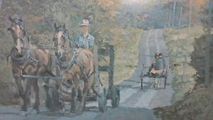 PETER ETRIL SNYDER FRAMED PRINT, NUMBERED & SIGNED Kitchener / Waterloo Kitchener Area image 3