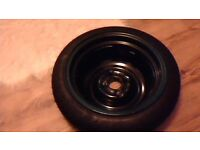 new spare tyre / wheel in new condition includes jack
