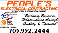 PEOPLE'S ELECTRICAL CONTRACTING