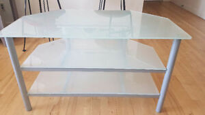 Frosted Glass TV Stand for Sale