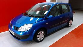 Renault Scenic (blue) 2004