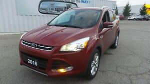 2016 Ford Escape Titanium, Pano Roof, Lthr, Nav Kitchener / Waterloo Kitchener Area image 1