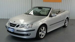 2007 Saab 9-3 442 MY2007 Linear Silver 6 Speed Manual Convertible Rockingham Rockingham Area Preview