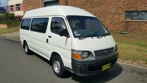 2000 Toyota Hiace RZH125R Commuter White 5 Speed Manual Bus Revesby Bankstown Area Preview