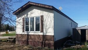 2 bedroom Mobile Home Completely Re-painted