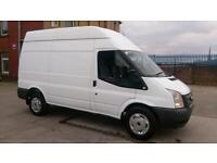 2012 12 FORD TRANSIT 2.2 350 H/R 1D 124 BHP MWB 1 OWNER F/VOSA/ PRINT OUT /////