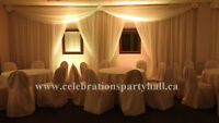 Party Hall available for your family & company events