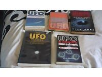 FIVE SUPERB UFO BOOKS