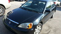 2002 Honda Civic E-Tested and Certified - Excellent Conditions
