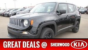 2015 Jeep Renegade 4WD SPORT Accident Free,  Bluetooth,  A/C,