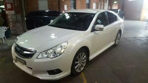 2011 Subaru Liberty MY11 2.5I White Continuous Variable Sedan Georgetown Newcastle Area Preview
