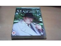 MAIGRET - THE COMPLETE SERIES-MICHAEL GAMBON-4 DVD BOX SET