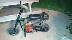 1970's S.E. Woods Mini Bike with 10hp Motor