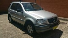 1999 Mercedes-Benz ML320 W163 MY2000 Classic Silver 5 Speed Automatic Wagon Yagoona Bankstown Area Preview