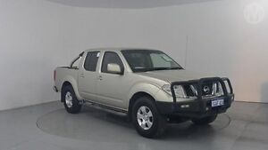 2010 Nissan Navara D40 ST (4x4) Gold 5 Speed Automatic Utility Perth Airport Belmont Area Preview