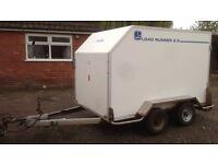 Lynton road runner 2.5 twin axle box trailer