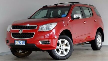 2013 Holden Colorado 7 RG MY13 LTZ Red 6 Speed Sports Automatic Wagon