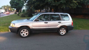 2005 SUBARU FORESTER *IMPECCABLE* AWD*BAS KM CERTIFIEE*FULL LOAD