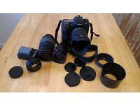 Nikon D300 + lenses