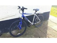 apollo xc 26 mountain bike with front suspension and front disc brake