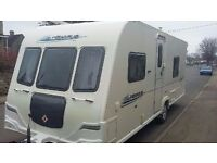 Bailey Pegasus 534 4 berth 2011 ***motor mover***** ****FIXED BED******